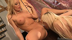 Silvia and Lena Cova have a party to get to but not before licking pussy