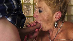 Malya is a granny porn star that can outperform many young bitches