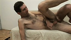 Former straightie gets his hairy ass drilled by his new boyfriend