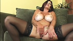 Lucky Benton is a naughty MILF who knows how to treat a hard cock