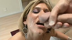 Kimber Winters blows his bone and gets herself some hardcore fucking