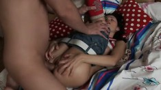 Fresh young cutie Rowan likes to be treated like a dirty whore