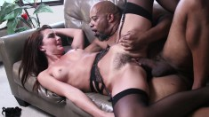 Black stallion Shane Diesel gives Bianca Breeze the fuck she deserves