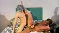 Mark Handler has a hung dude sucking his cock and hammering his butt