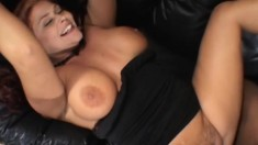 Bodacious wife fulfills her interracial desires in front of her man