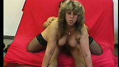 Lustful mature lady with big tits and a sweet ass needs to get fucked hard and deep