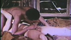 A couple of black lovers enjoy some extreme anal in a classic scene