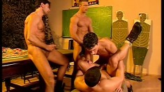 Six Horny Army Studs Embark On A Mission To Explore Their Gay Desires