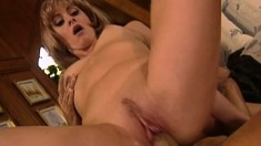 A pair of horny bitches from yesterday's porn get banged raw