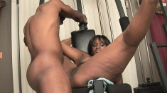 Amazing Skyy Black gives herself up to a hunky black stallion