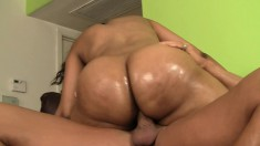 Hot BBBW gets and gives head and gets drilled by his big joint