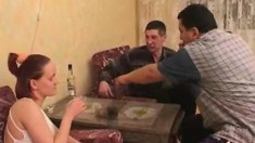 Russian Teen Group Sex In Shower