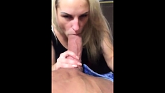 Teen pov blowjob job handjob and giant cumshot