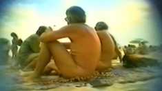 blowjob on a beach of Cap d'Agde