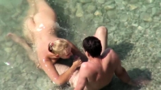 Amateur With Glasses Outdoor Blowjob Facial